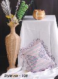 Embroidered Cushion Cover - 02