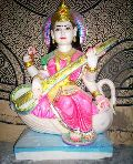 Goddess Saraswati Marble Statues