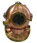 Brass Vintage Divers Helmet Replica Diving Helmet