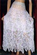 Crochet Long Midi Skirt