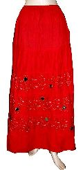 Cotton Embroidered Skirts Sk - 174