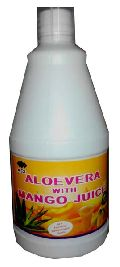 Alovera with Mango Juice