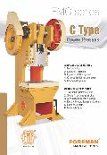 Steel Body C Type Power Press