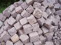 Manga Pink Granite Cobble Stone