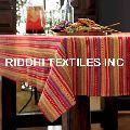 Cotton Woven Dobby Tablecloths