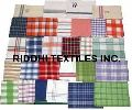 Madras Check Kitchen Towels, Dish Cloth