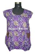 2857 Cotton Printed Top