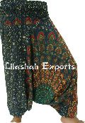 Rayon Alibaba Pants, Afgani  Trouser,  Harem Pants,Summer Collection, Hindu Ropa Harem Pants, Jaipuri Hand Block Mandala Print Trousers, Pantalon