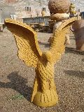 Sandstone Eagle Statue