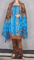 Bollywood Salwar Suit Galce Cotton