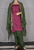 Designer Bollywood Salwar Suit with Chikan Embroidery