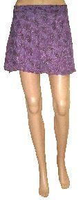 Indian Cotton Mini Wrap Skirt