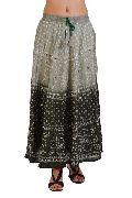 New Cotton Bandhej Skirt
