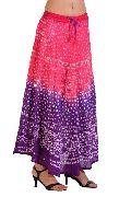 Tie Dye Gypsy Bandhej Skirt