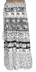 Traditional Designer Cotton Long Wrap Skirt