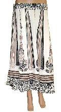 Women Long Beach Cotton Wrap Skirts