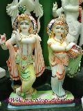 Radha krishna ji Marble Statues