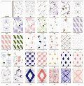 Luster White Printed Series Tiles
