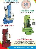 Servo Vertical Plateau Honing Machines