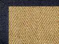 Herringbone Bleached Weave Coir Rugs