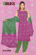 Cotton Bandhej Salwar Suit