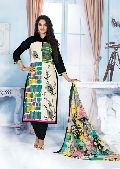 Cotton Printed Chudidar  Suit