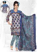 Printed Salwar Kameez, Dress Material