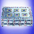 Silver Jewellery Box - Sjb- 010