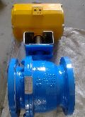 Actuated Flanged Ball Valve