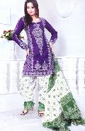 Unstitched Bandhej Salwar Suit