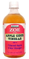 Zoe Filtered Apple Cider Vinegar