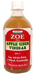 Zoe Unfiltered Apple Cider Vinegar