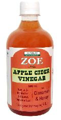 Zoe Apple Cider Vinegar with Cinnamon & Honey