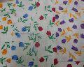 Bleach Flower Flannel Cloth