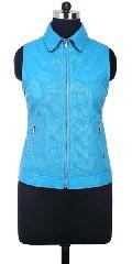 Ladies Leather Vests
