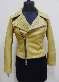 Ladies Leather Studded Jackets