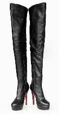 Ladies Leather Long Boots