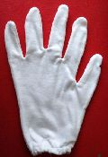 Double Layer Hosiery Hand Gloves