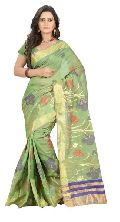 Cotton Silk Fancy Saree