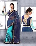 Fancy Net Designer Saree