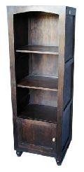 AU - 07A wooden bookshelves
