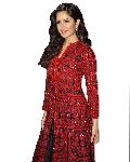 Katrina Red Embroidered Jacket Style