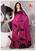 Pink Party Wear Saree - Desire Collection