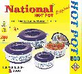 800 Gms - 4 Pcs Hot Pot Set National