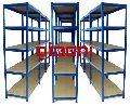 Slotted Angle Steel Racks