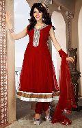 Plushy Crimson Salwar Kameez