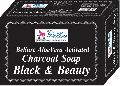 BeSure Aloe Vera Activated Charcoal Soap to Gently Exfoliates Skin