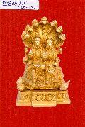 Brass Lakshmi Narayan Statue
