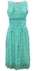 Chiffon Block Printed Dress