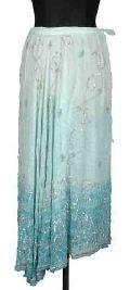 Silk georgette hand sequenced bandhani tie dye skirt code- sk-23
